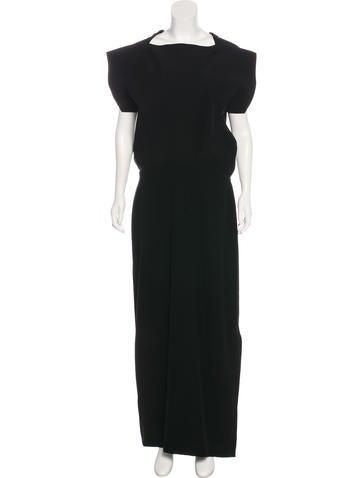 Balenciaga Sleeveless Maxi Dress None