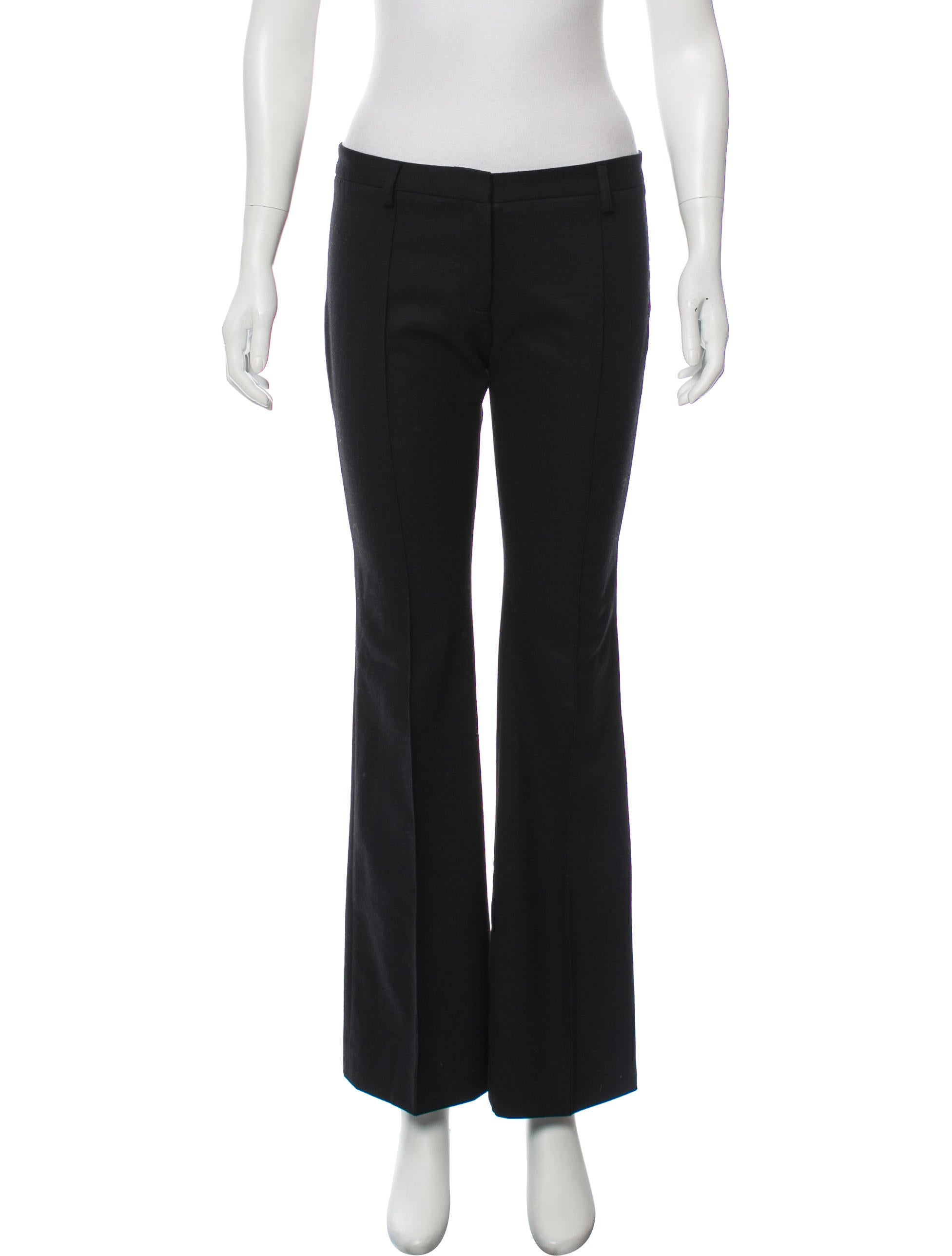 Mid Rise Straight Leg Pants by Balenciaga