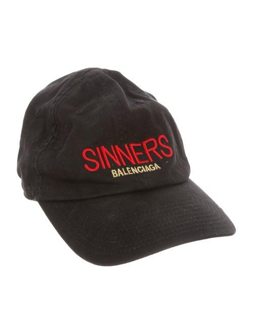 3e9354f6c22 Balenciaga Sinners Twill Cap - Accessories - BAL69586