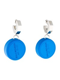 shopping cheaper stable quality Balenciaga Bottle Cap Drop Earrings - Earrings - BAL69783 ...