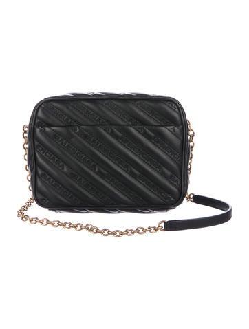 80f417ac37a4 Balenciaga XS Blanket Reporter Crossbody Bag - Handbags - BAL72886 ...