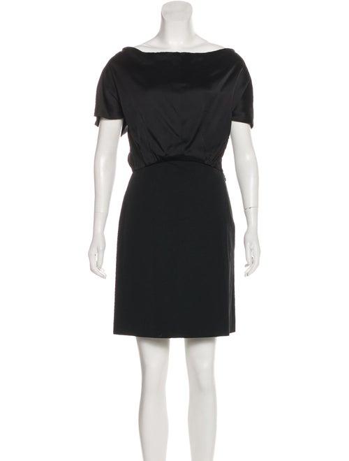 4388ef48a660 Balenciaga Cowl Neck Mini Dress - Clothing - BAL73637 | The RealReal