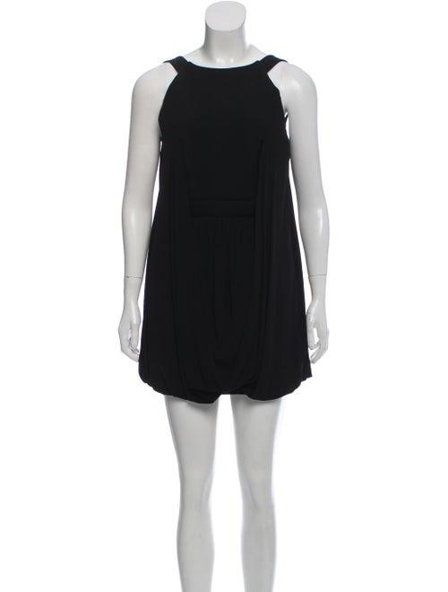 Balenciaga Sleeveless Balloon Dress w/ Tags Black