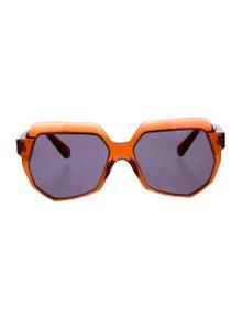 98ea769c62a Tinted Embellished Sunglasses.  85.00 · Balenciaga