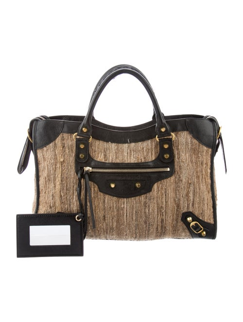 3a6e85a8ab1 Balenciaga Motocross Classic City Bag - Handbags - BAL83914 | The ...