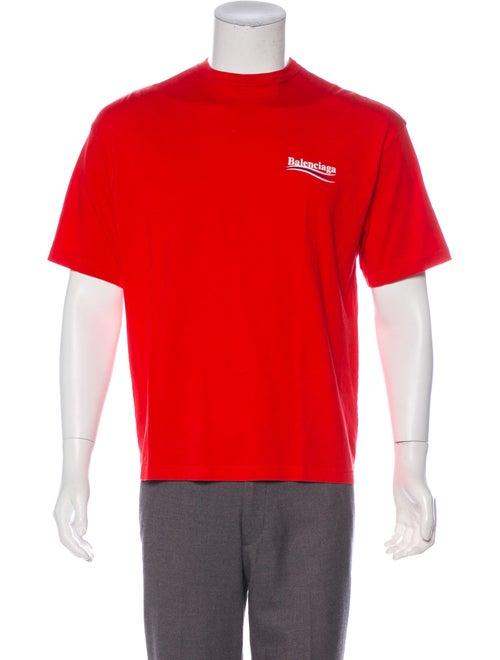 db8487082753 Balenciaga 2017 Campaign Logo Graphic T-Shirt - Clothing - BAL85154 ...