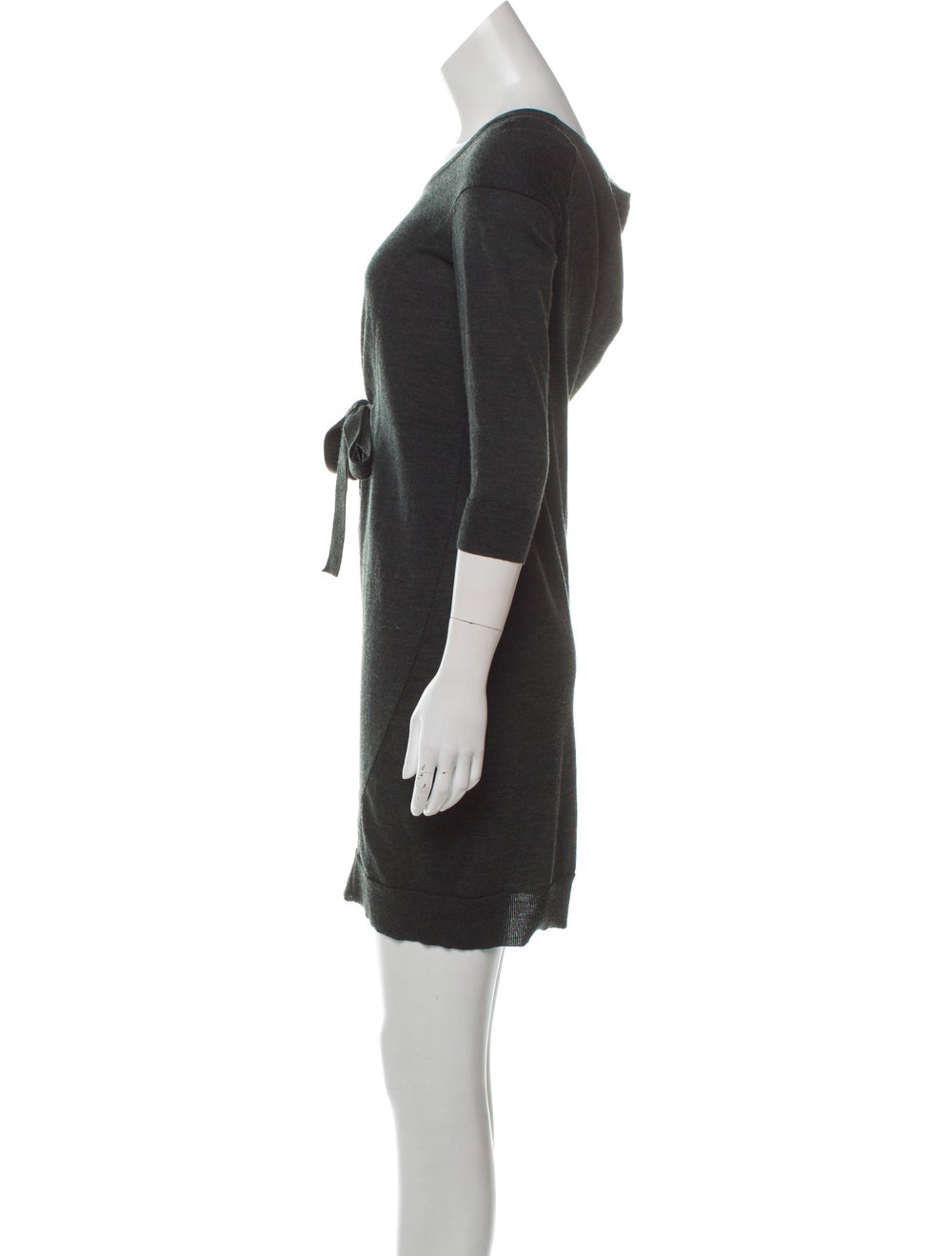 Balenciaga Wool Knit Dress green - image 2