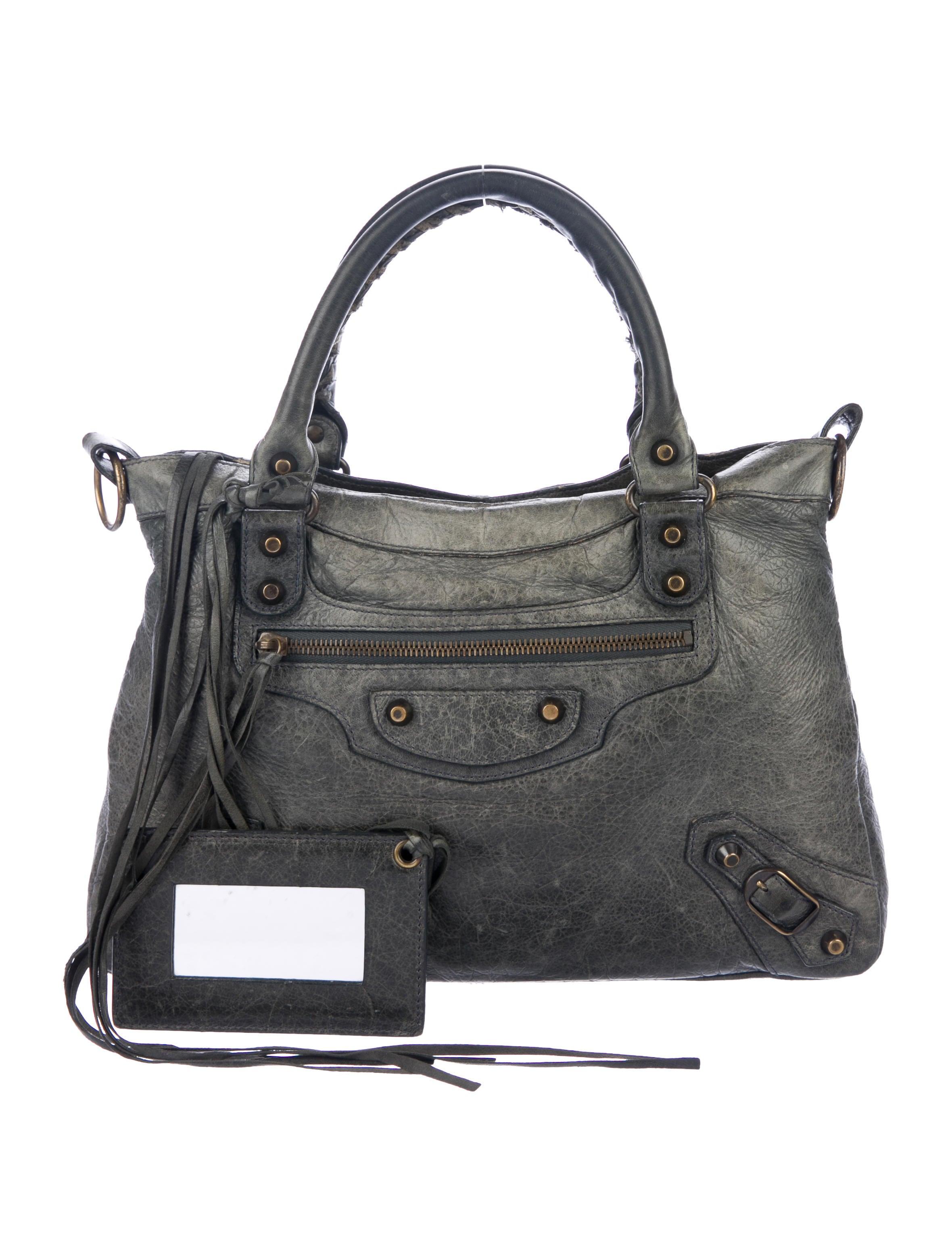 a5d68ed08ee Balenciaga Handle Bags | The RealReal