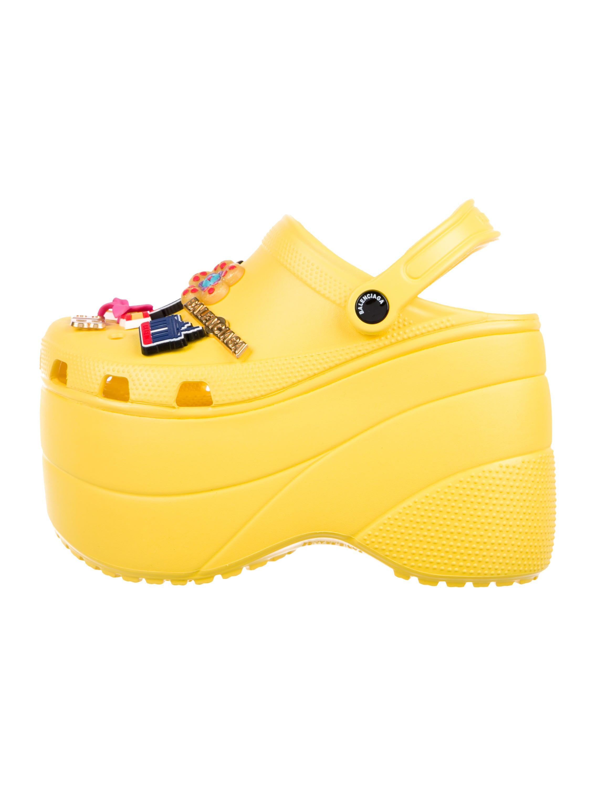 Balenciaga x Crocs Platform Clogs w