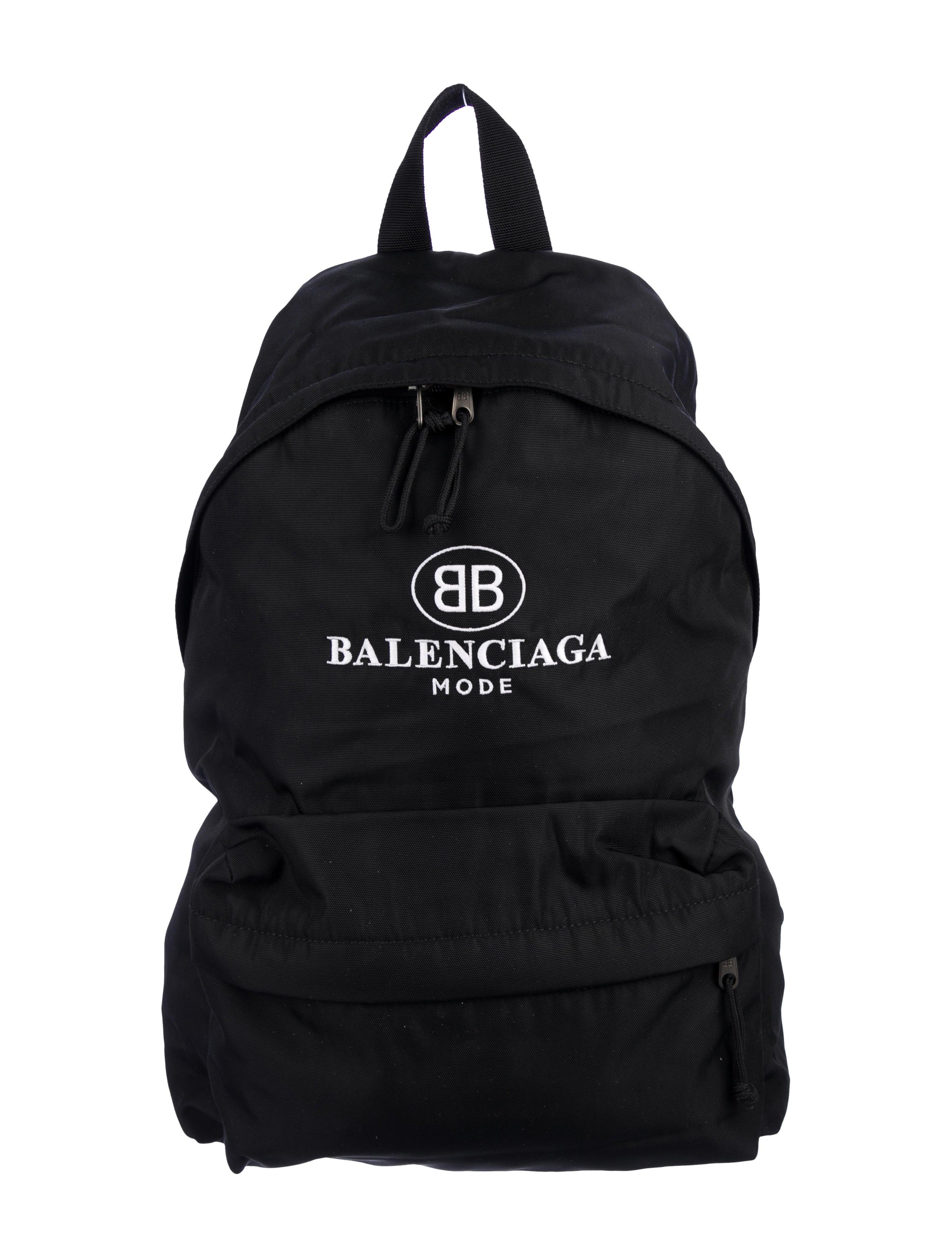 Balenciaga BB Mode Explorer Backpack