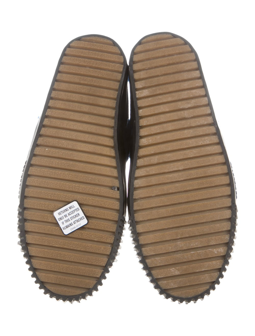 Balenciaga Cap-Toe Shearling-Trimmed Sneakers bla… - image 5
