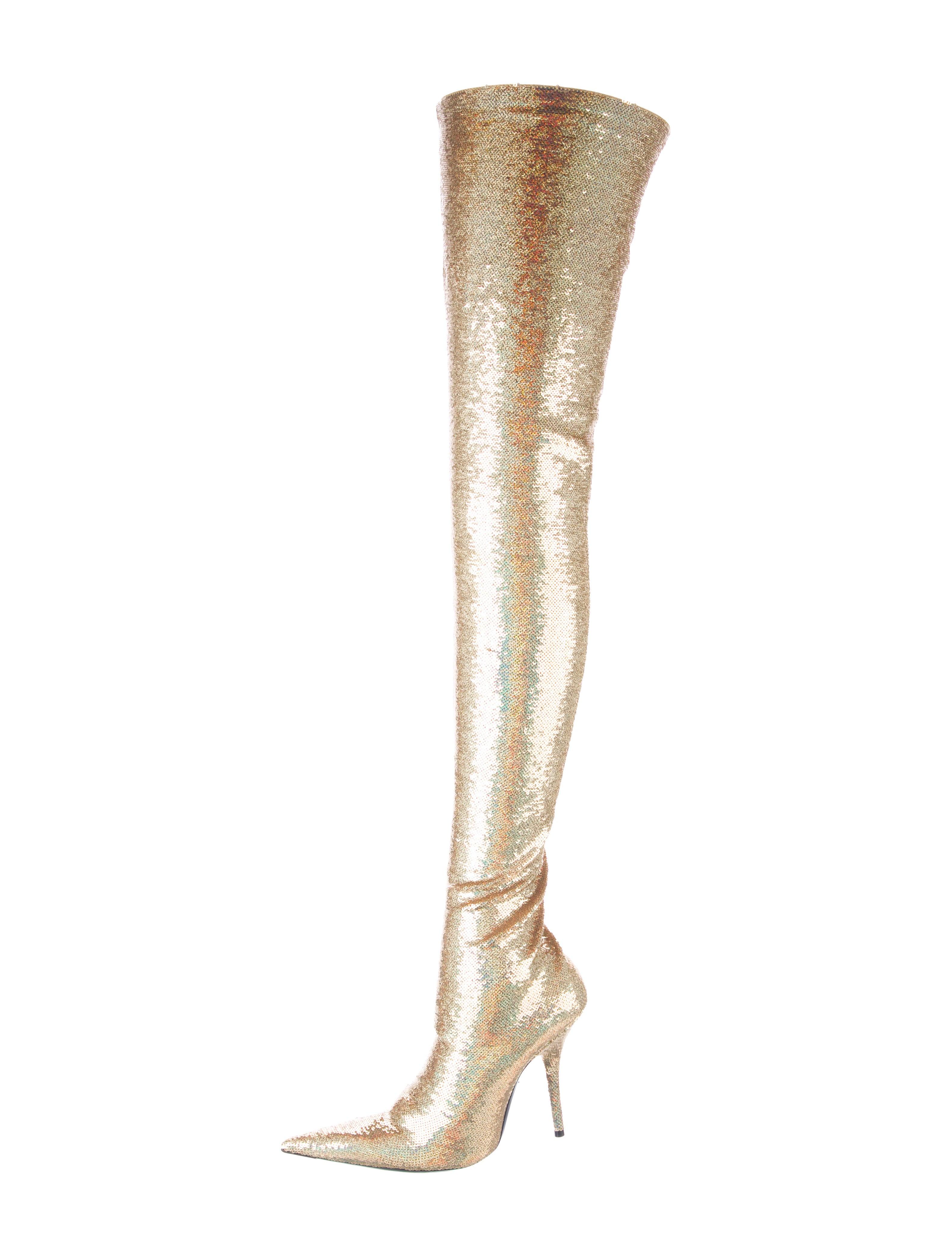 Balenciaga Sequin Knife Thigh-High