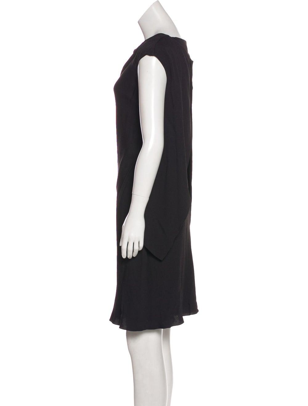 Balenciaga Cap Sleeve Mini Dress Black - image 2