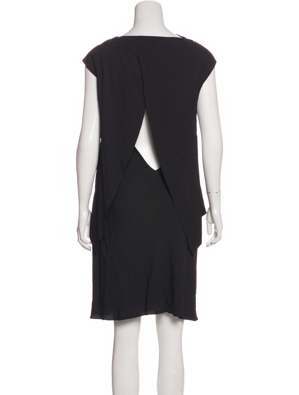 Balenciaga Cap Sleeve Mini Dress Black - image 3
