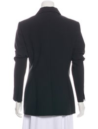 Structured Virgin Wool Blazer w/ Tags image 3