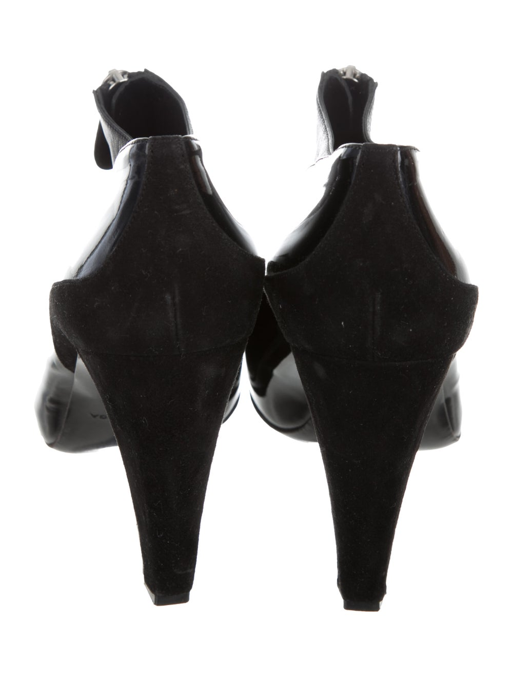 Balenciaga Cap-Toe Patent Leather Ankle Booties B… - image 4