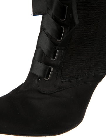 Satin Boots