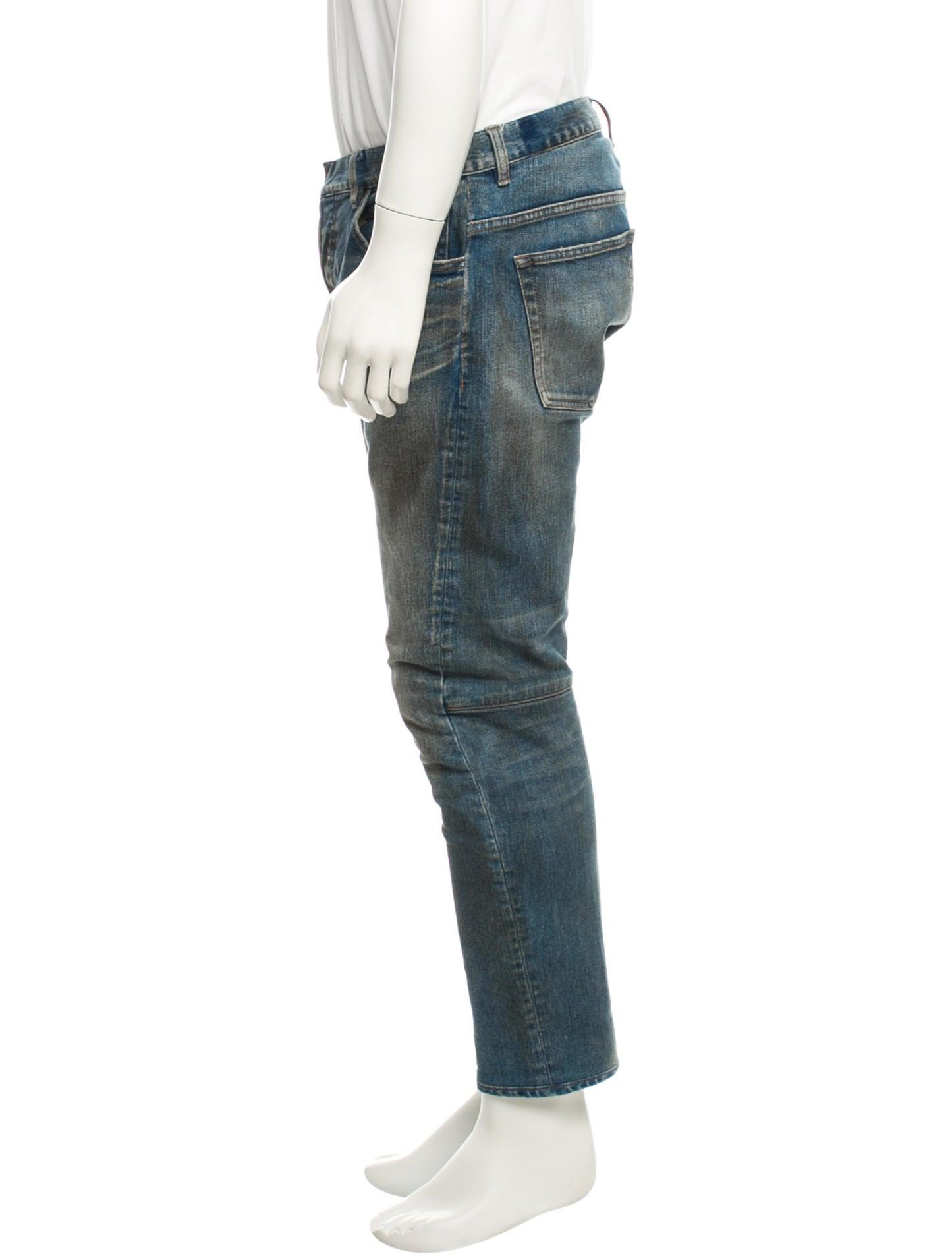 balmain jeans clothing bam20813 the realreal. Black Bedroom Furniture Sets. Home Design Ideas