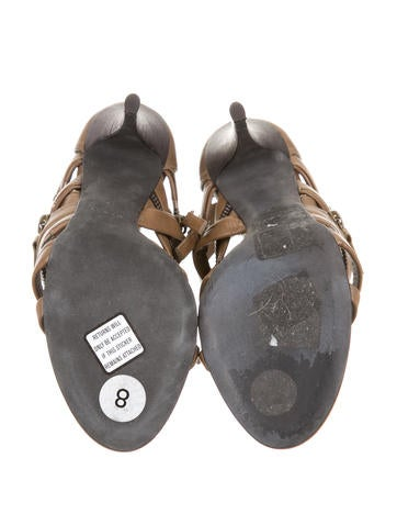 x Giuseppe Zanotti Cage Sandals