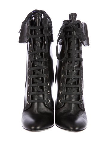 Giuseppe Zanotti x  Lace-Up Ankle Boots