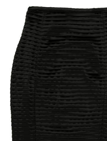 Pencil Tiered Skirt