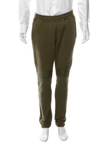 Balmain Elasticized Jogger Pants None