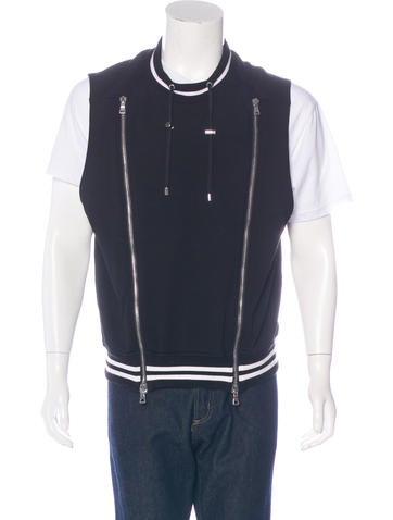Balmain Woven Zip Vest None