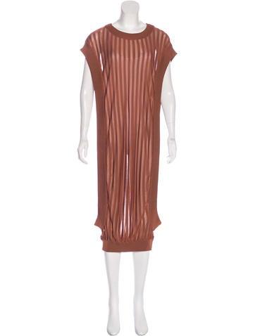Balmain Sleeveless Knit Dress w/ Tags None