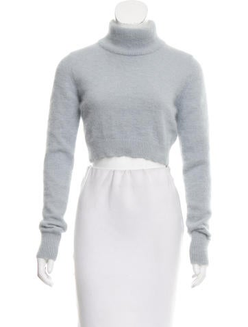 Balmain Angora & Wool-Blend Sweater None