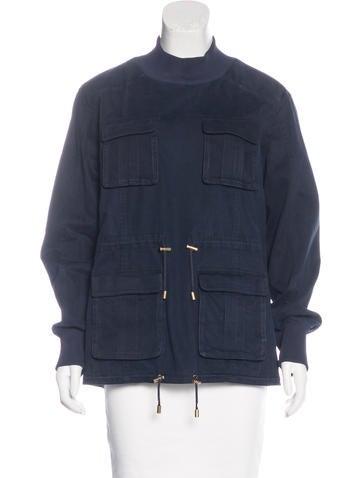 Balmain Long Sleeve Pullover Jacket None