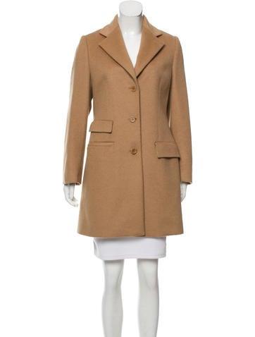 Balmain Structured Knee-Length Coat None