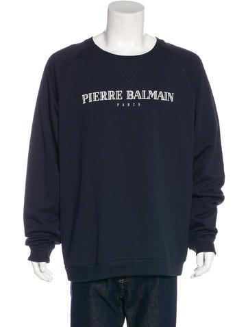 Balmain Logo Print Sweatshirt w/ Tags None