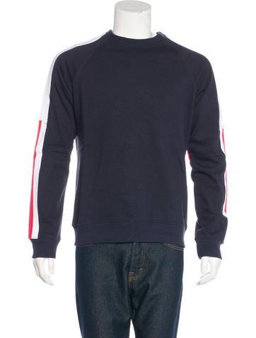 Balmain Striped Knit Sweatshirt None
