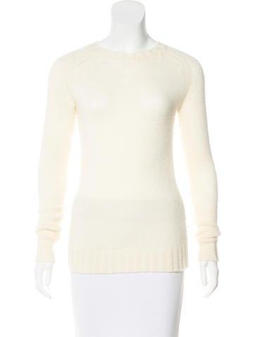 Balmain Wool Crew-Neck Sweater None