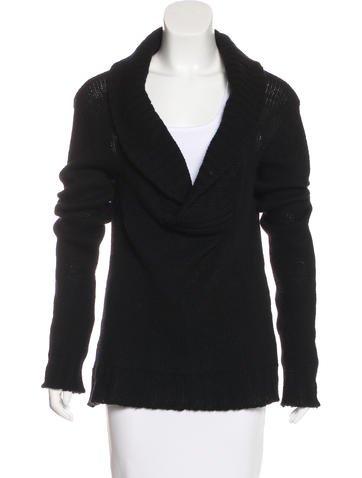 Balmain Knit V-Neck Sweater None