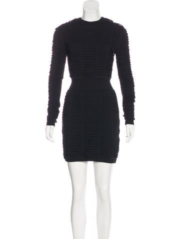 Balmain Cutout Bodycon Dress None
