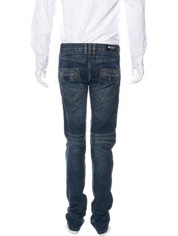 Skinny Moto Jeans