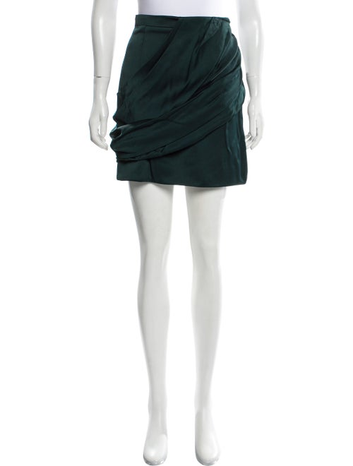 Balmain A-Line Mini Skirt