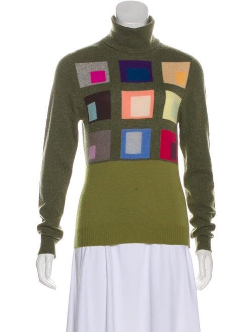 Balmain Cashmere Knit Sweater Green