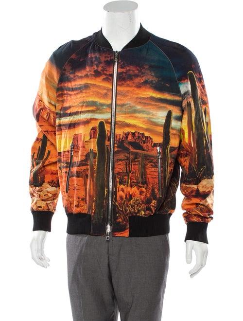 Balmain Grand Canyon Bomber Jacket orange - image 1