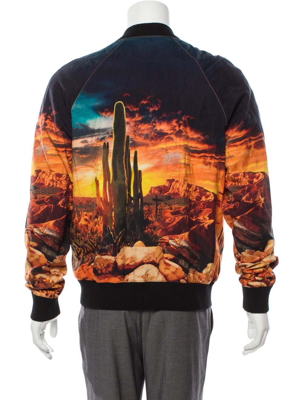 Balmain Grand Canyon Bomber Jacket orange - image 3