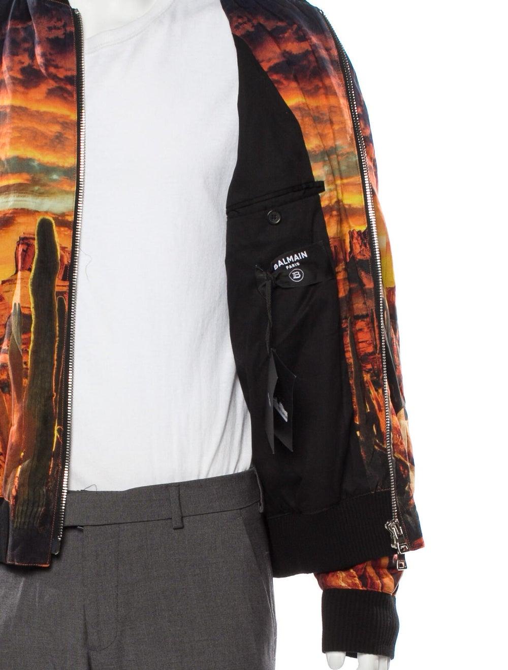 Balmain Grand Canyon Bomber Jacket orange - image 4