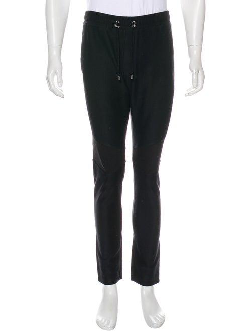 Balmain Knit Lounge Pants black