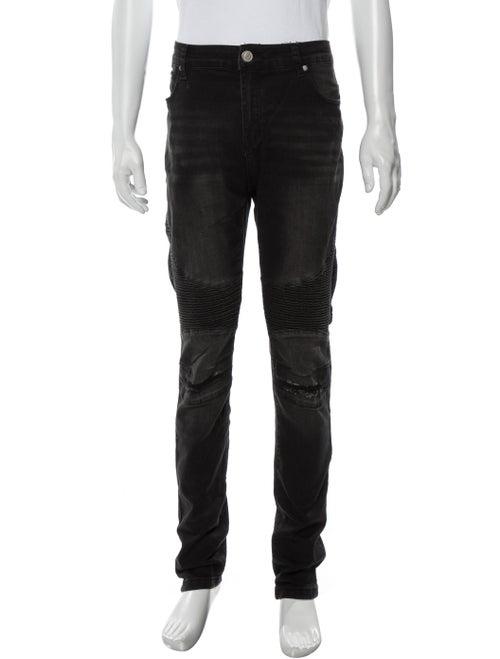 Balmain Skinny Jeans Black