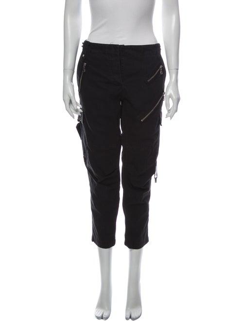 Balmain Skinny Leg Pants Black
