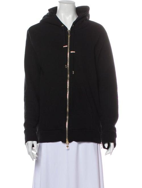 Balmain V-Neck Sweater Black