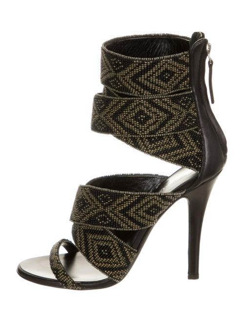 Balmain Printed Sandals