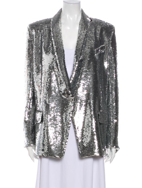 Balmain Evening Jacket Silver