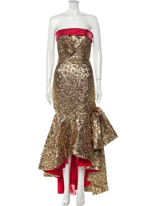 Bambah 2019 Long Dress Gold