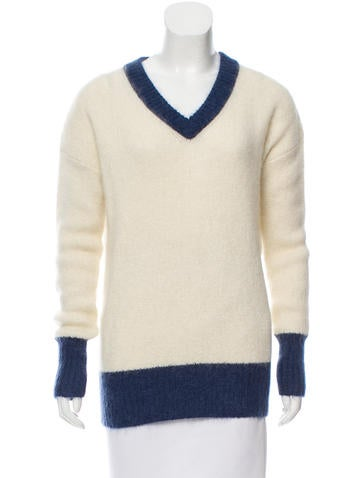Band of Outsiders Mohair & Wool-Blend Sweater w/ Tags None